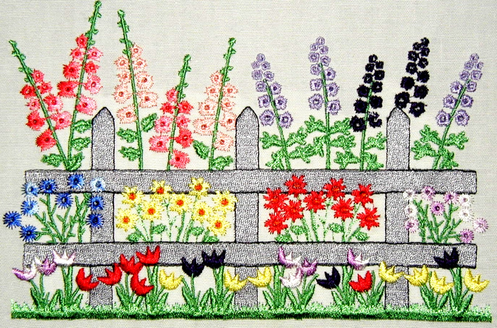 Softsew products page for Garden embroidery designs free